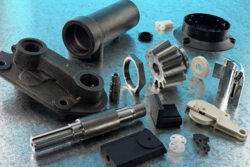 Custom Cast Parts, Custom Plastic Components and, Turned Parts, Assembly Parts